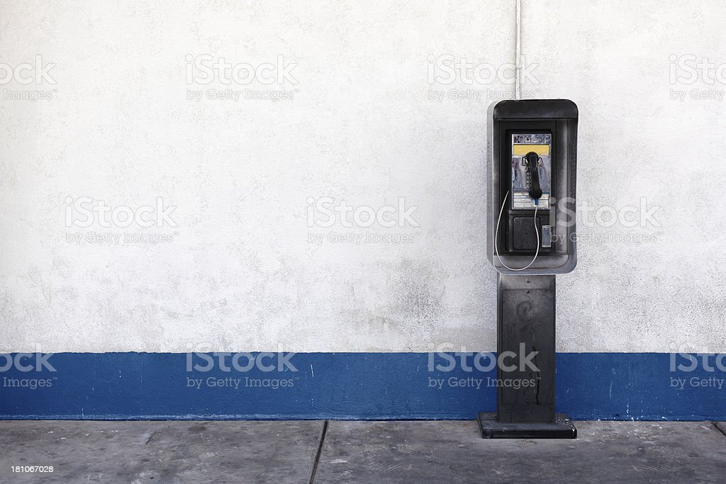 Payphone stock photo