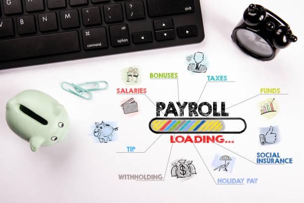 Lohn-, Arbeits-, Chancen-, Finanz- und Versicherungskonzept – Foto