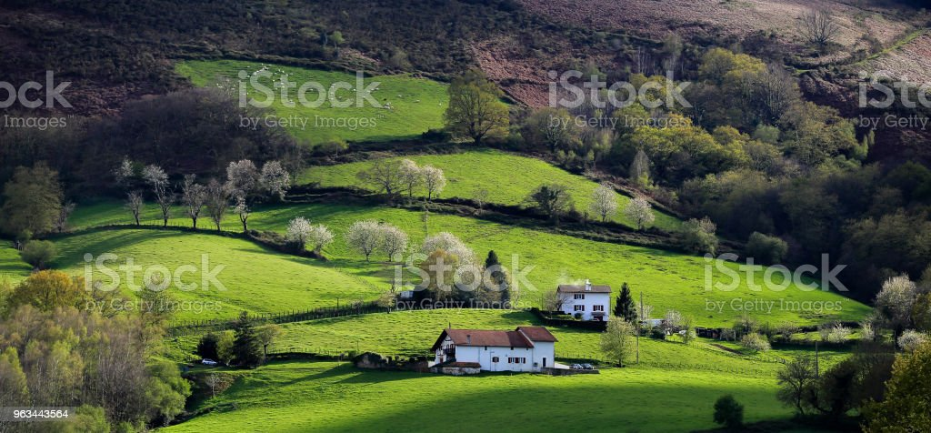 Pays Basque - Photo de Champ libre de droits