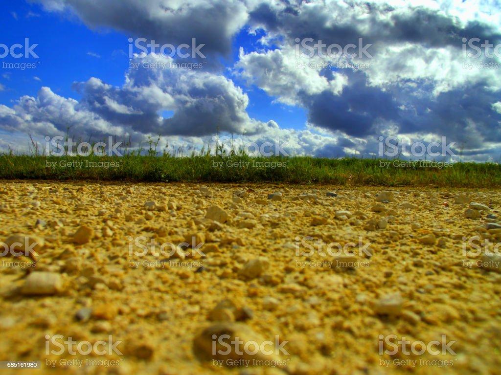 Paysage, vue du Sol royalty-free stock photo