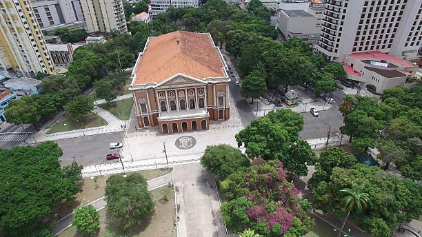 Paz Theater in Belem do Para, Brazil stock photo