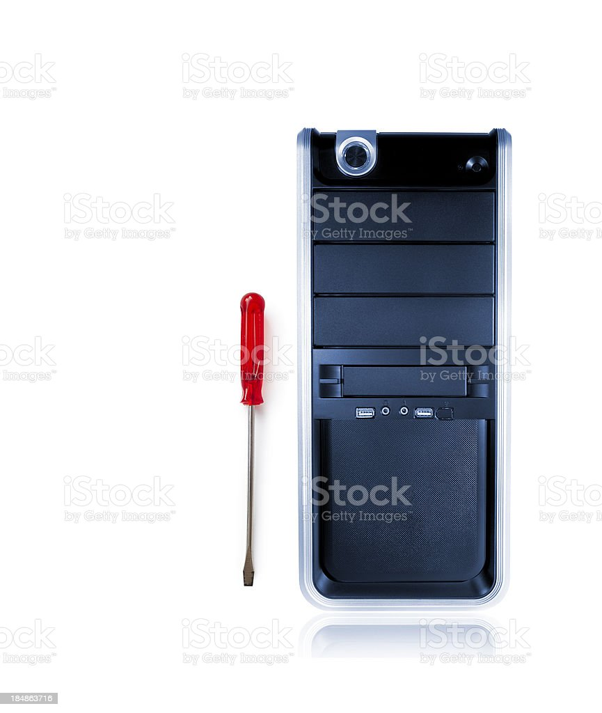pc repair and service royalty-free stock photo