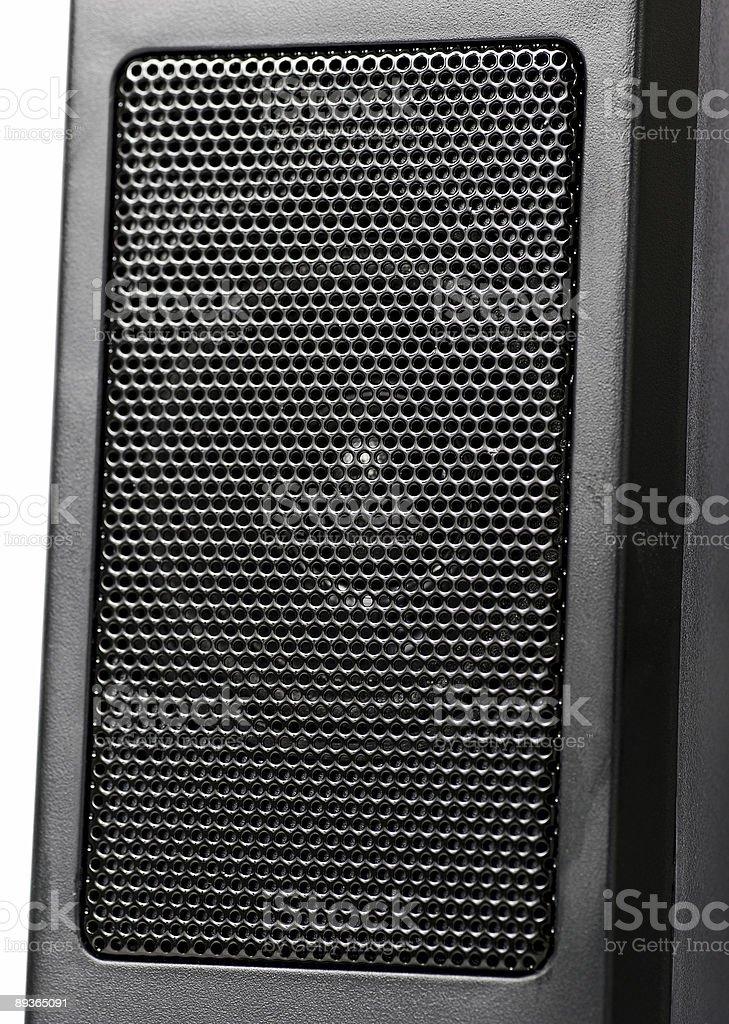 Pc speakers royalty-free stock photo