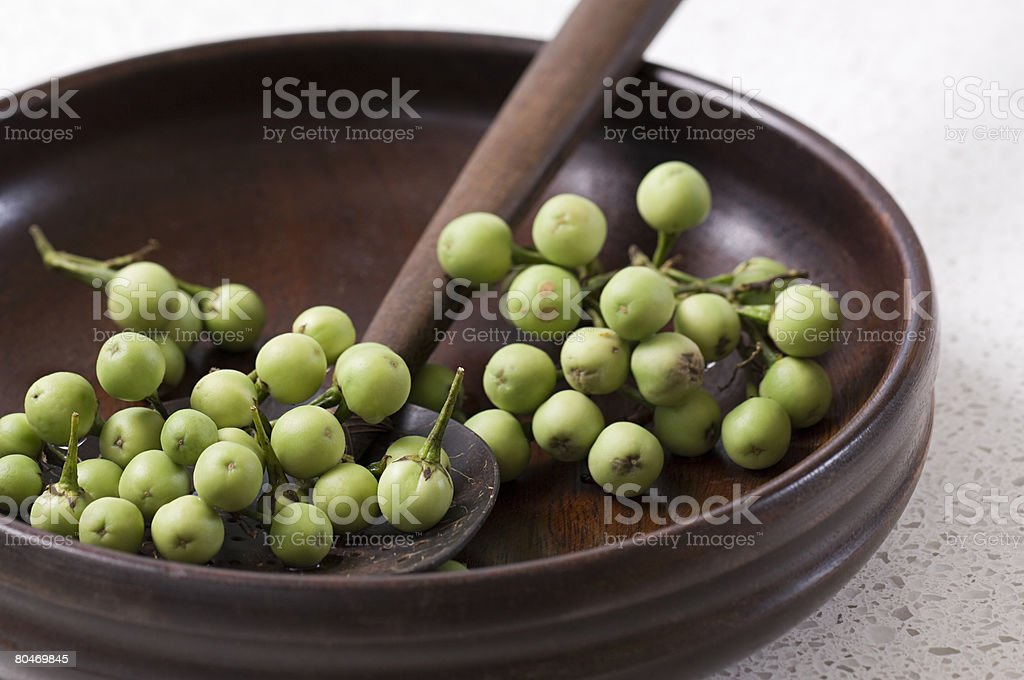 Pea aubergines royalty-free 스톡 사진