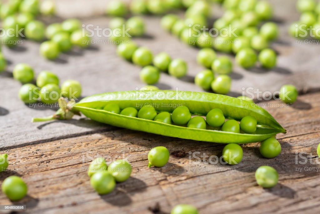pea grains royalty-free stock photo