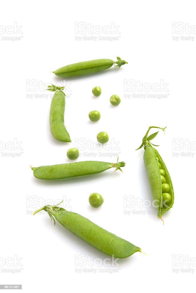 pea pods royalty-free stock photo
