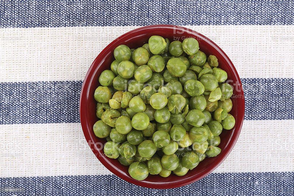 Pea snacks royalty-free stock photo