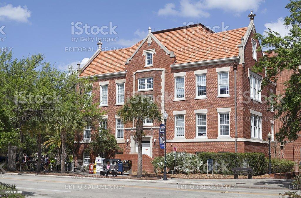 Peabody Hall at University of Florida stock photo