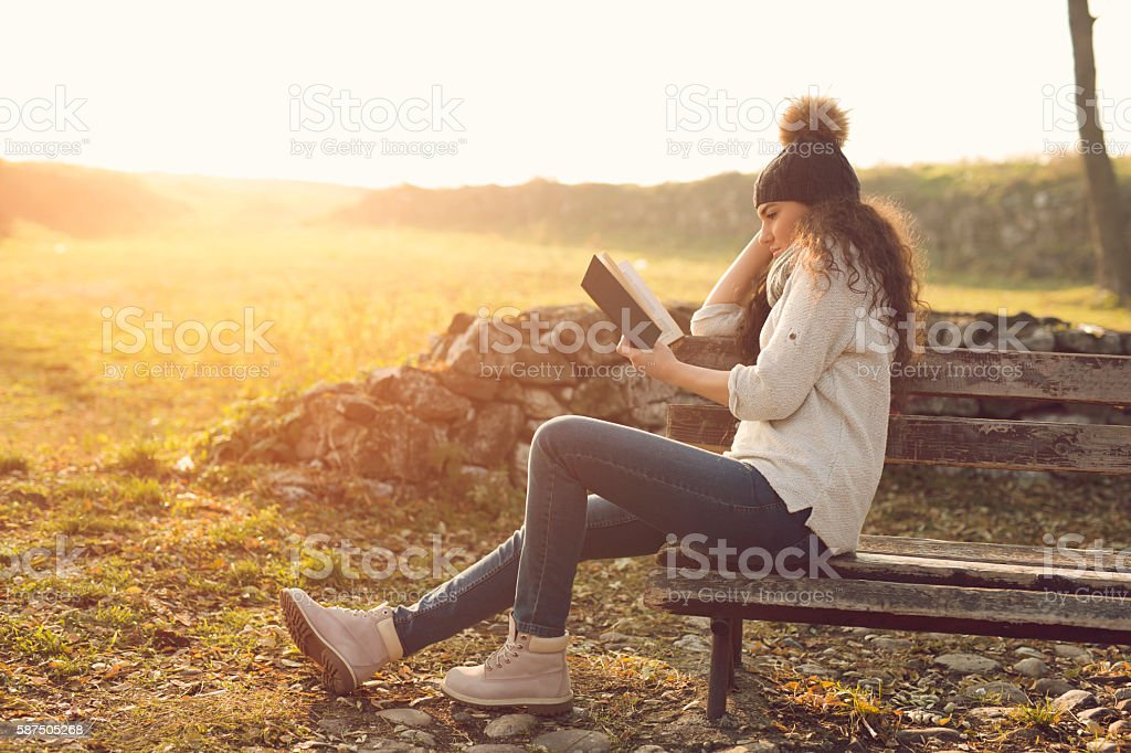 Peace and relaxing stock photo