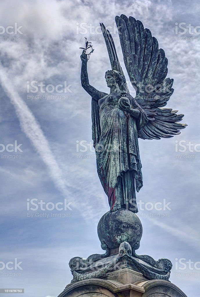 Peace Angel stock photo