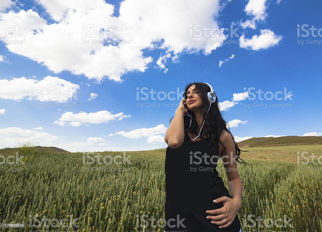 Peace in nature royalty-free stock photo