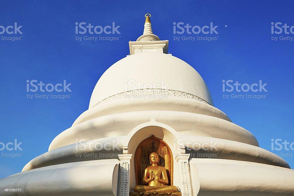 Peace Pagoda stock photo