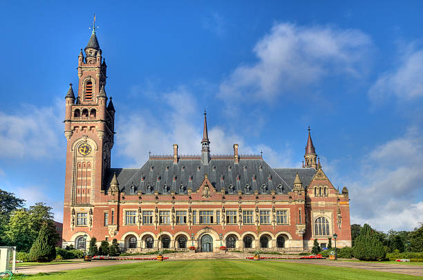 Peace Palace in Holland​​​ foto