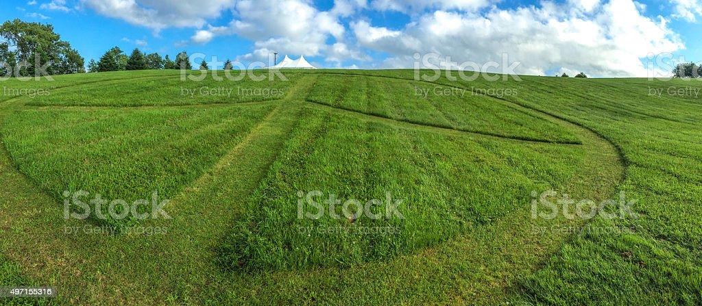Peace Panoramic stock photo