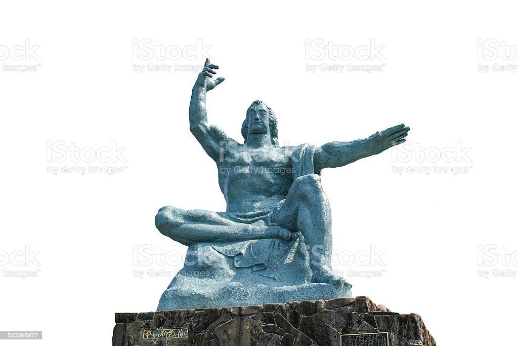 Peace Statue stock photo