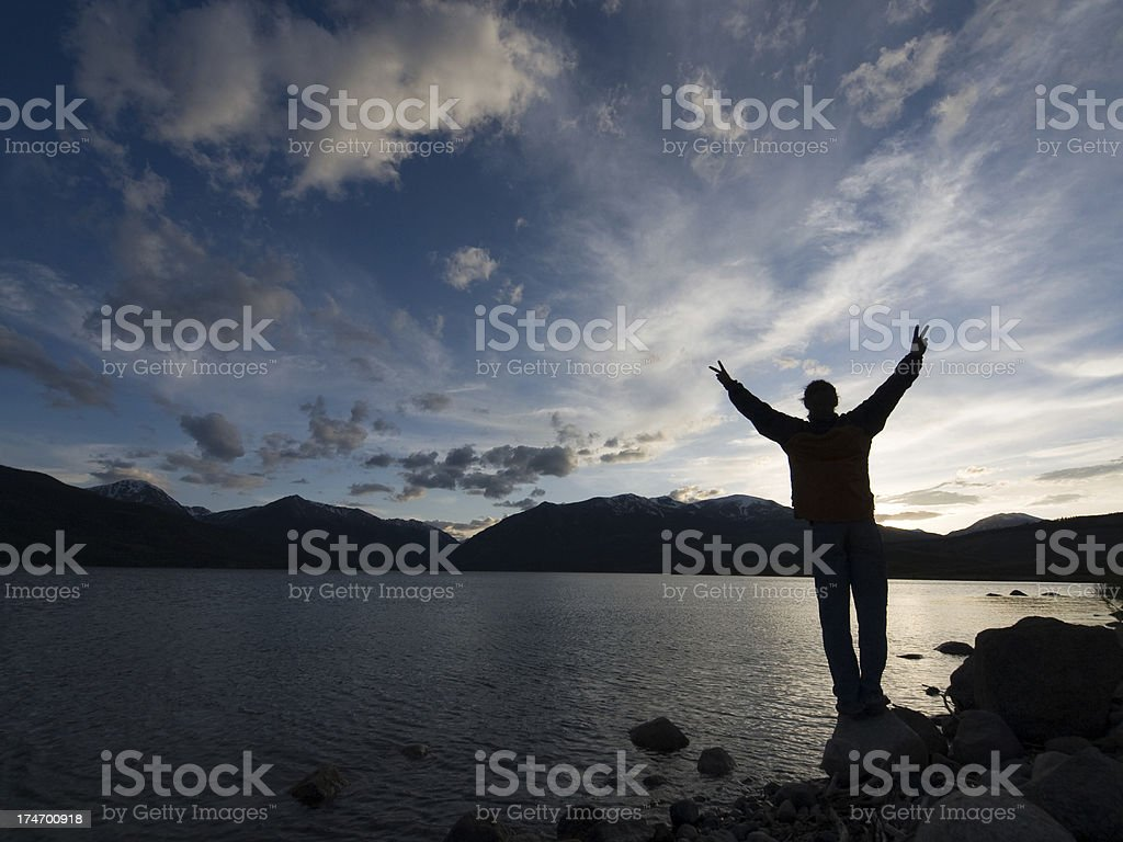 peace to all beings royalty-free stock photo