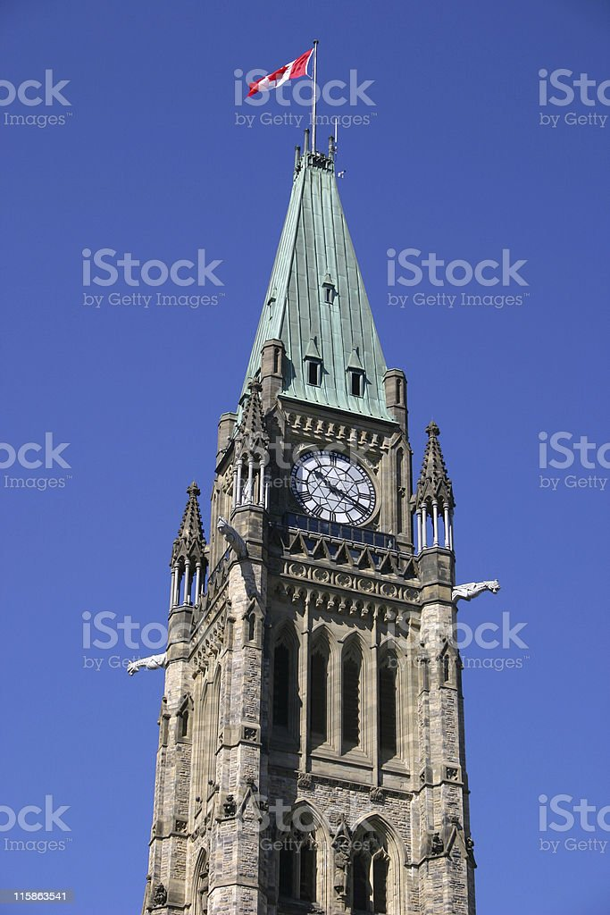 Peace Tower 02 royalty-free stock photo