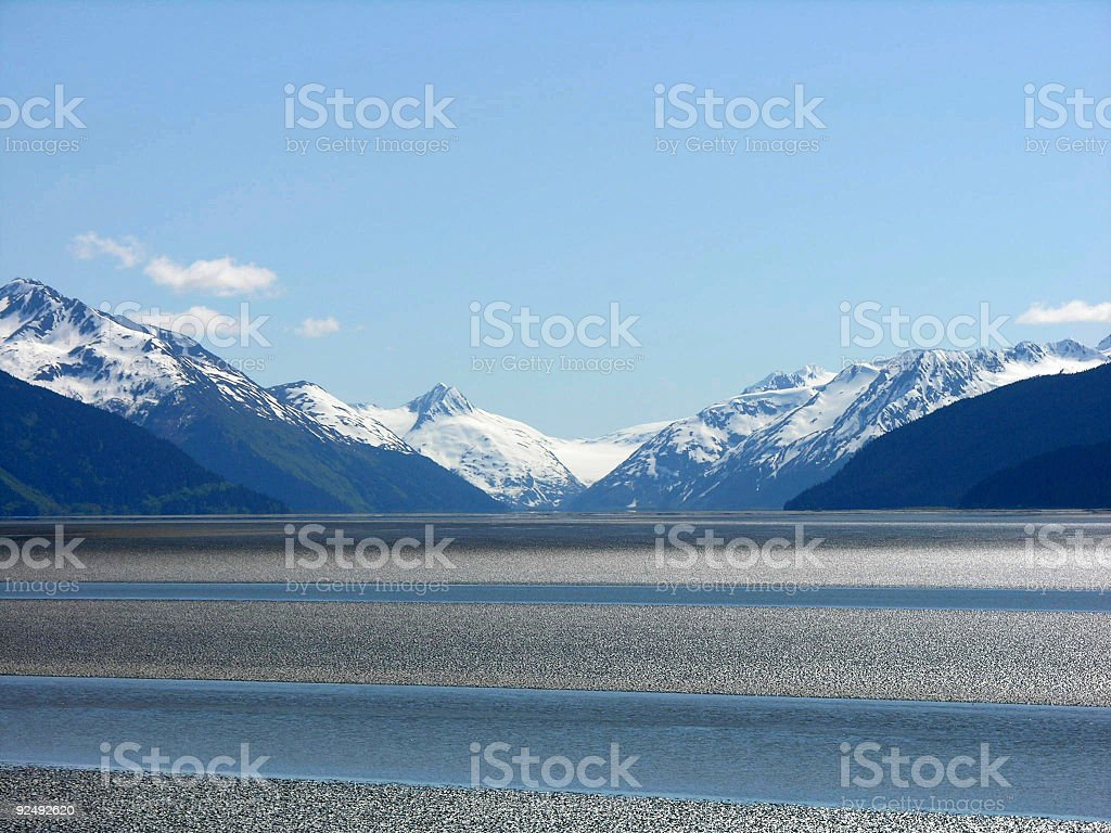 Peaceful Anchorage royalty-free stock photo