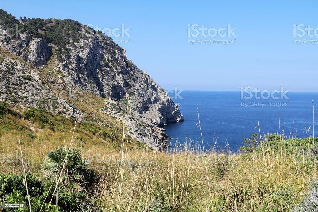 Peaceful bay stock photo