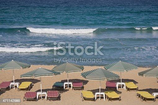 istock Peaceful beachfront at Falassarna Bay 471142585