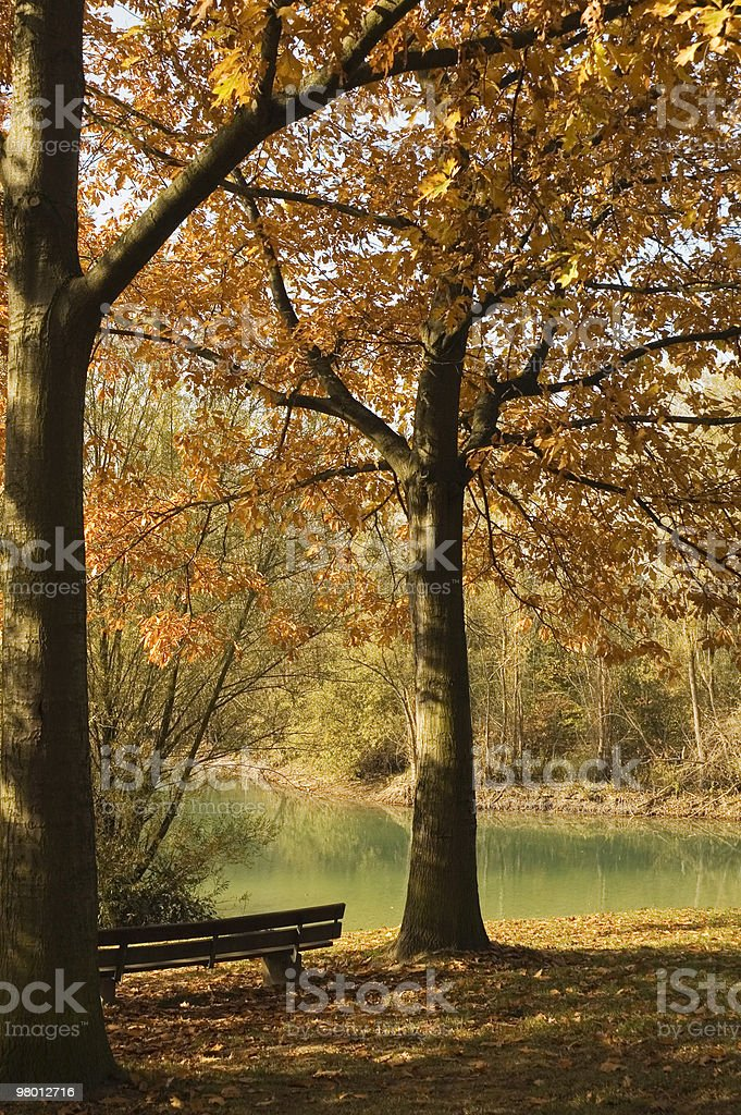 Peaceful Corner royalty-free stock photo