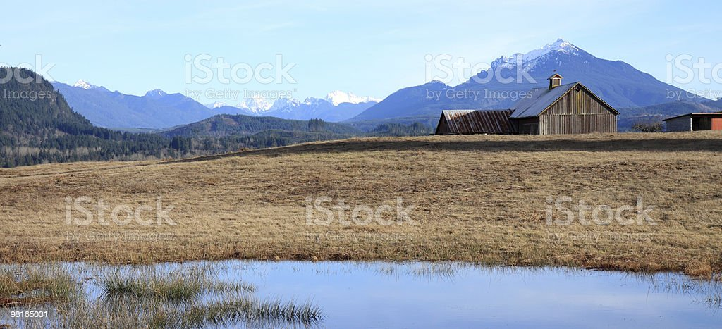 Peaceful Family Farm royalty-free stock photo