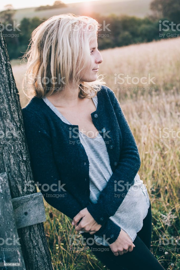 Peaceful Happy Woman Enjoying Nature Beauty Girl Outdoor Stock Photo Download Image Now Istock