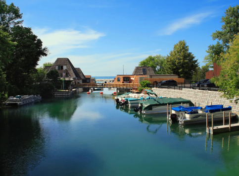 Peaceful Harbor Stock Photo - Download Image Now
