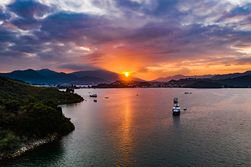 Tai Mei Tuk is a place close to the Plover Cove Reservoir in the Tai Po District, New Territories, Hong Kong. It is a popular place for barbecues and cycling
