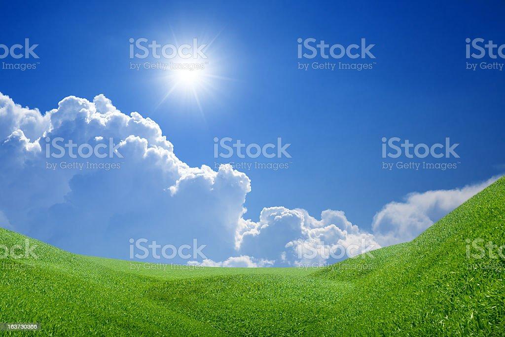 Peaceful landscape royalty-free stock photo
