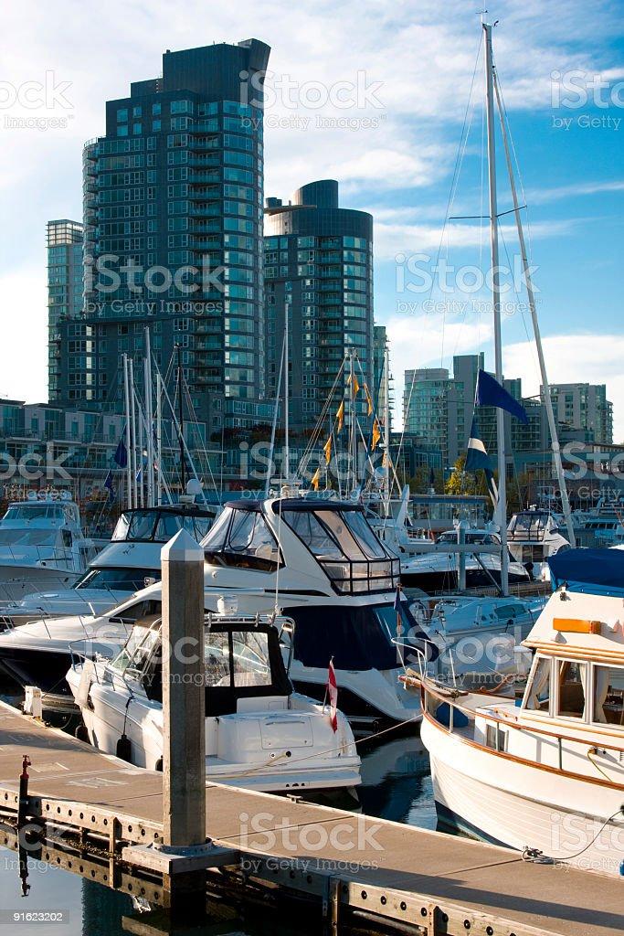 Peaceful Marina royalty-free stock photo