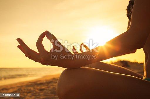 istock Peaceful meditation 515858710