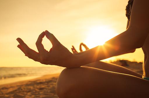 Meditation stock photos