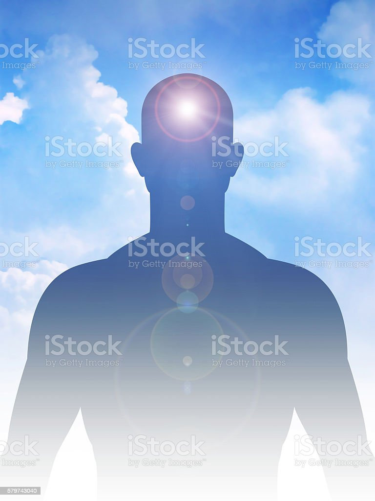 Peaceful Mind And Body stock photo