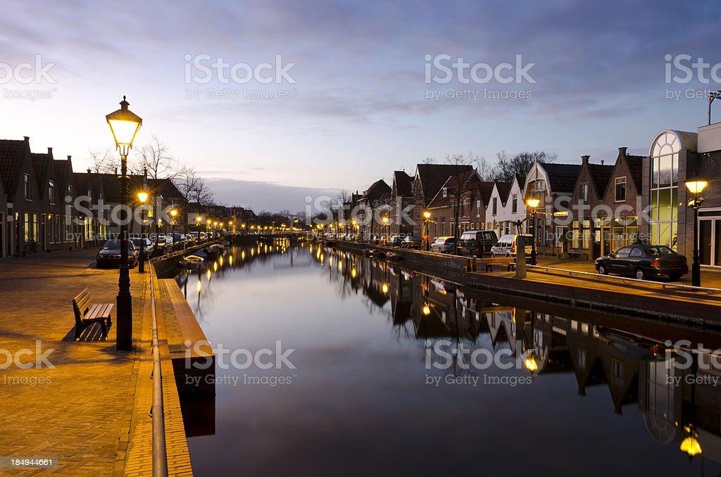 Peaceful moments in Alkmaar stock photo