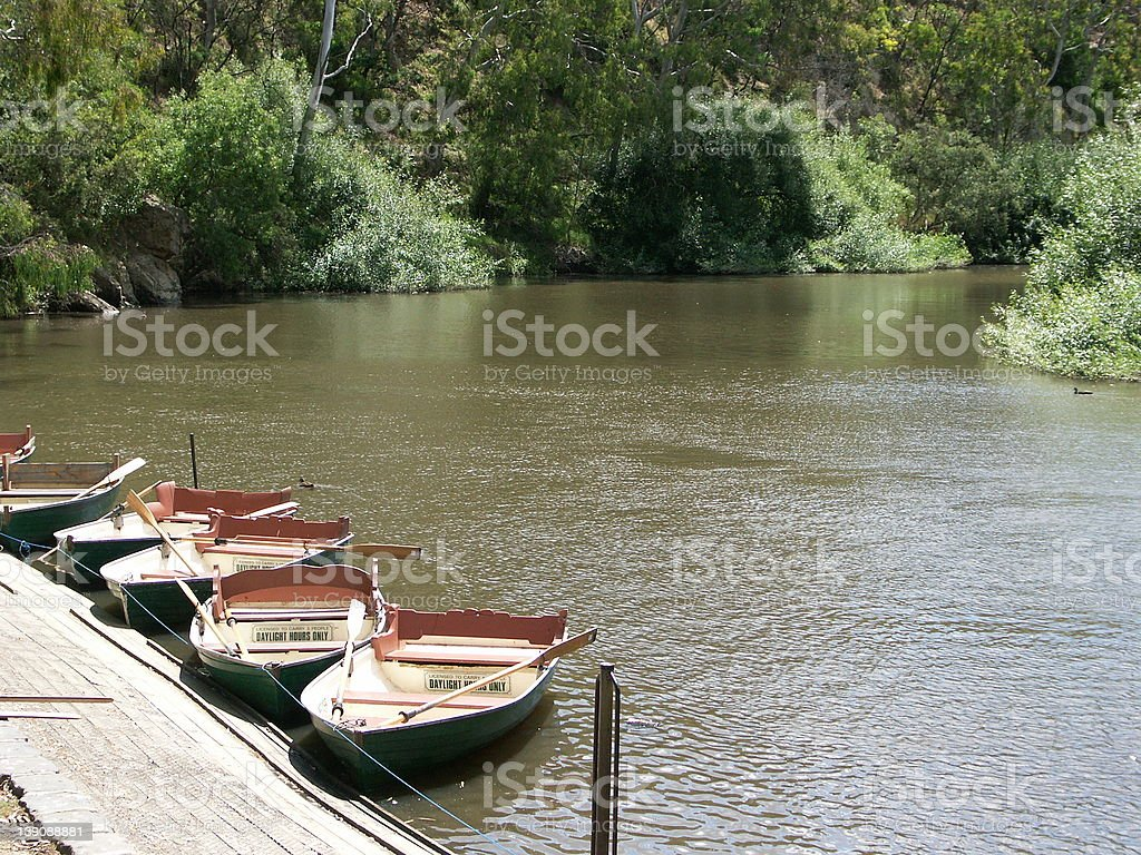 Peaceful Port royalty-free stock photo