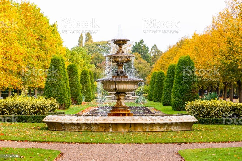 Friedliche Landschaft in des Regents Park in London – Foto