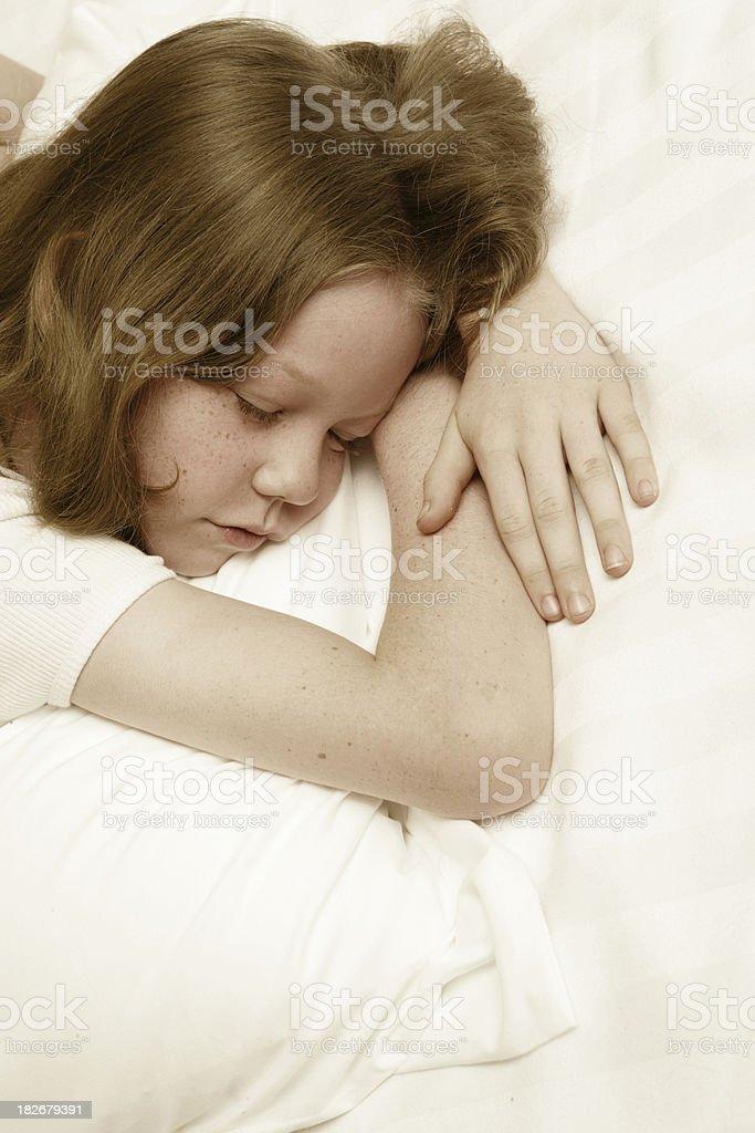 Peaceful Sleep royalty-free stock photo