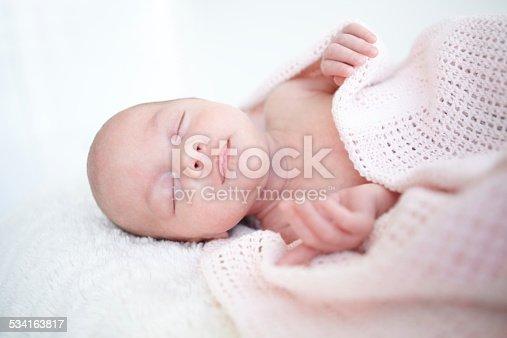 istock Peaceful sleep 534163817