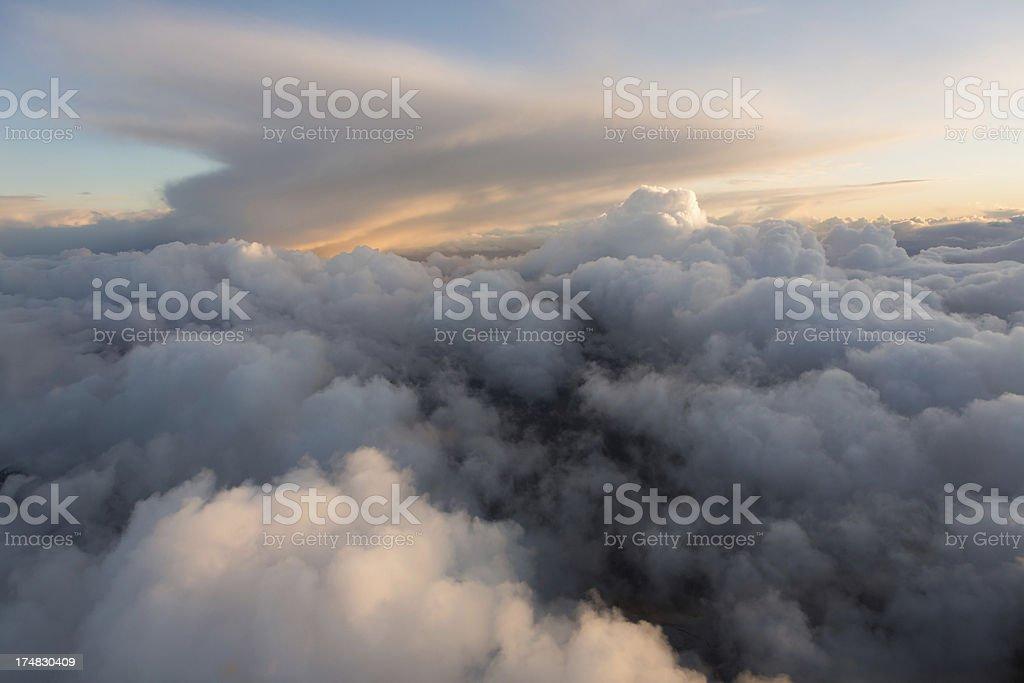 Peaceful Sunset royalty-free stock photo