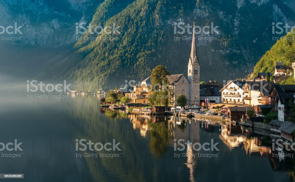 Paisible village d'Autriche - Royalty-free Austria Stock Photo