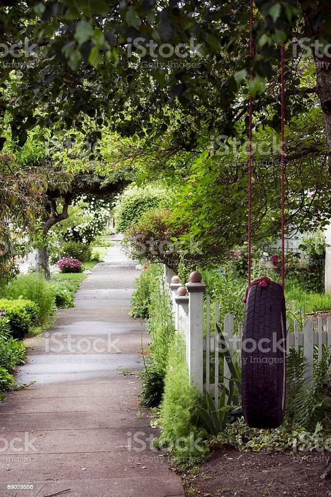 Peaceful walk royalty-free stock photo