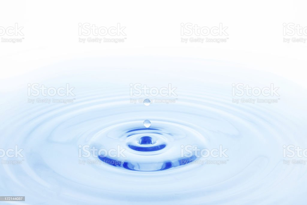 Peaceful Water royalty-free stock photo