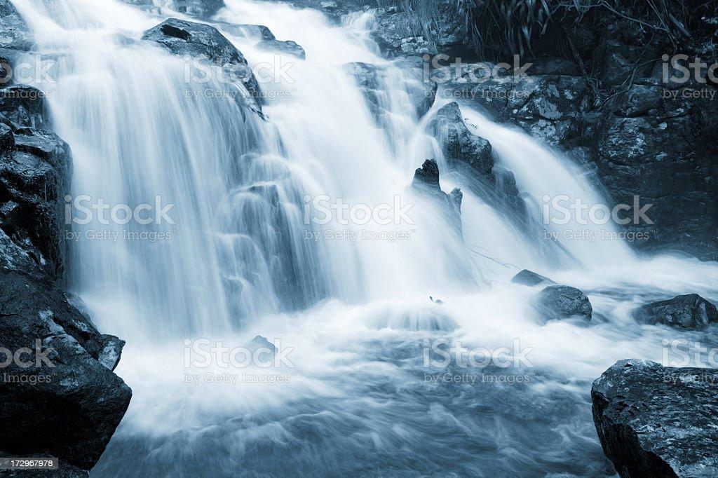 Peaceful Waterfall royalty-free stock photo
