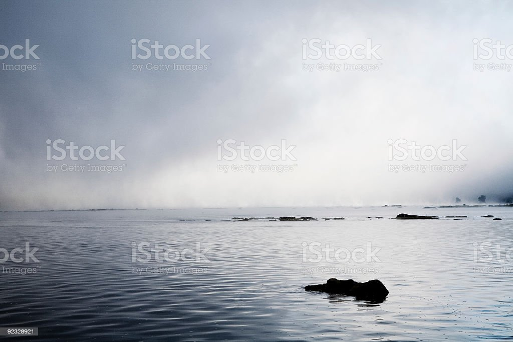 peaceful waters royalty-free stock photo