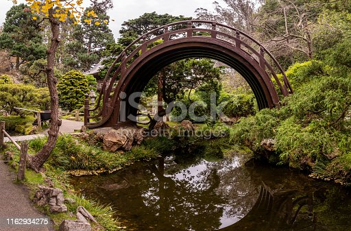 Peacefull picture of Japanese Tea Garden
