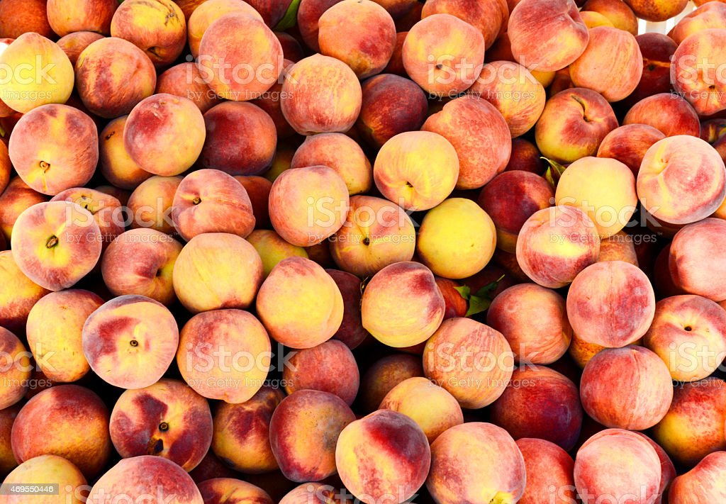 Peach background stock photo