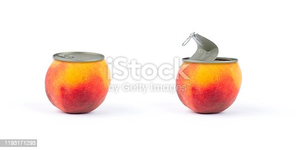 Peach conserve canned on off fruits and vegetables