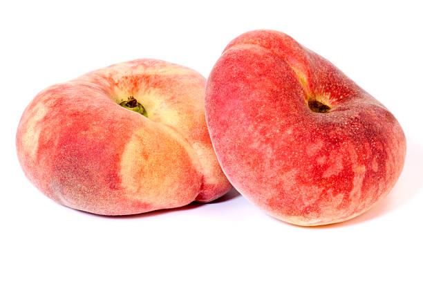 Peach Donut stock photo