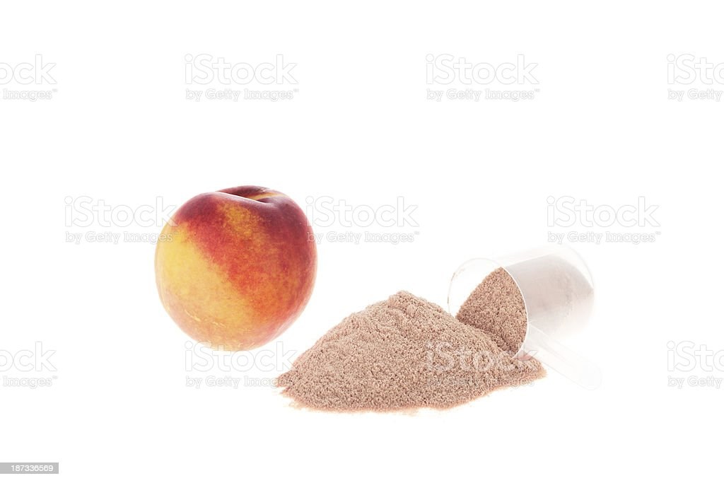 Peach flavoured royalty-free stock photo
